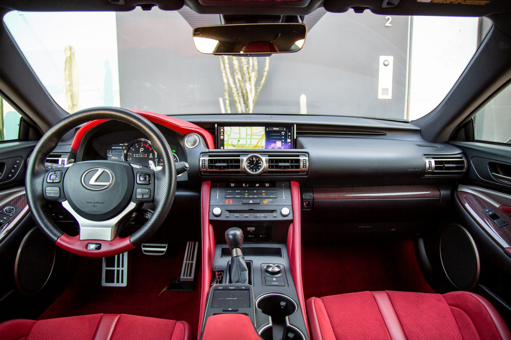 12 Lexus RC F Interior Review - Seating, Infotainment, Dashboard ..