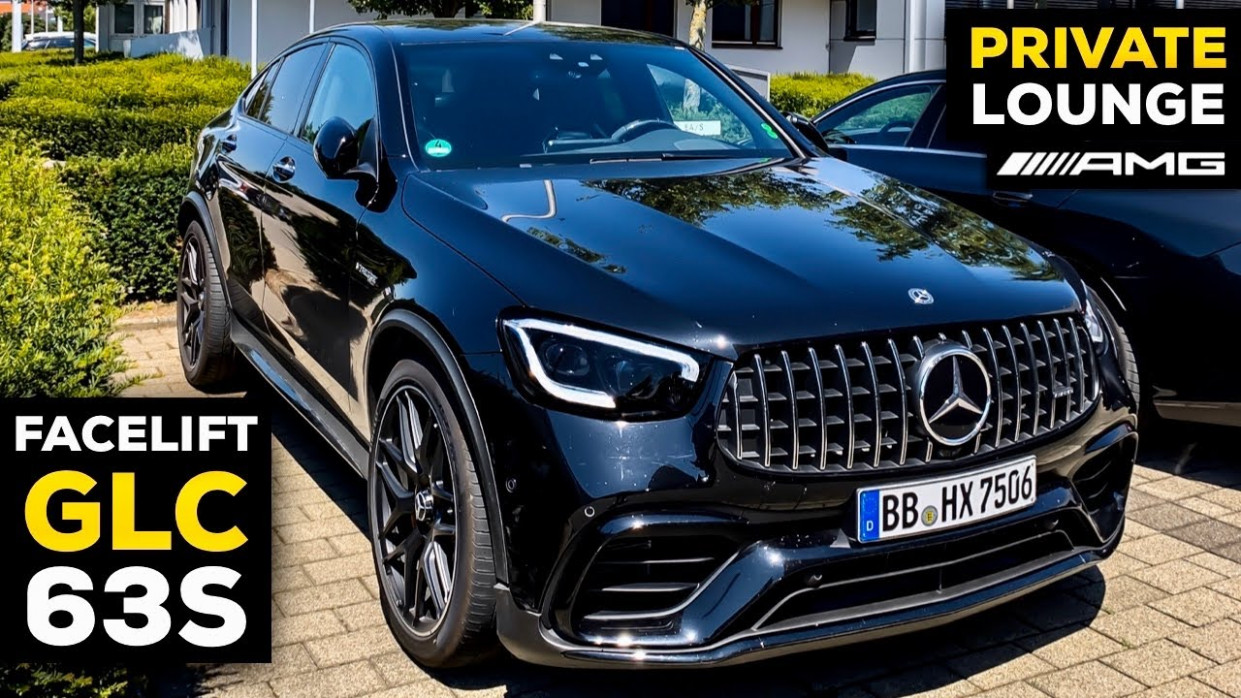 12 MERCEDES-AMG GLC12 S Coupé V12 NEW Facelift & AMG PRIVATE LOUNGE in  Affalterbach, Germany! - 2020 mercedes v8