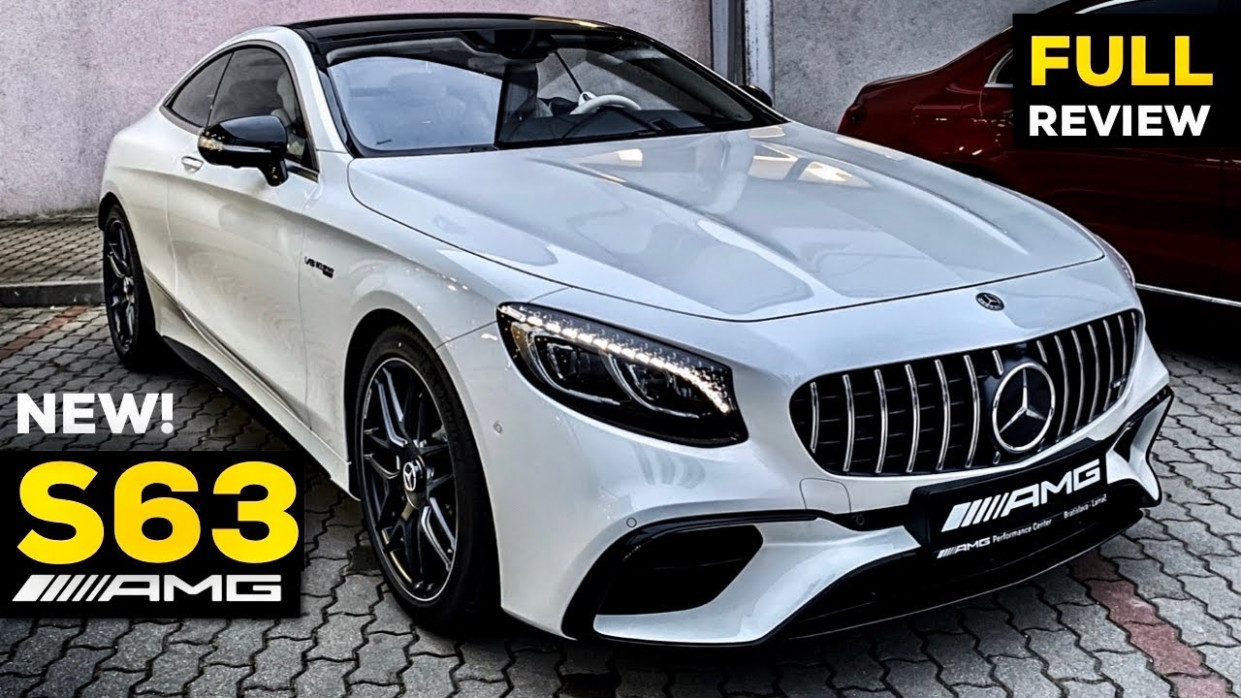 12 MERCEDES AMG S12 Coupé V12 NEW FULL Review BRUTAL Sound S Class 12MATIC+  Interior Exterior - 2020 mercedes v8