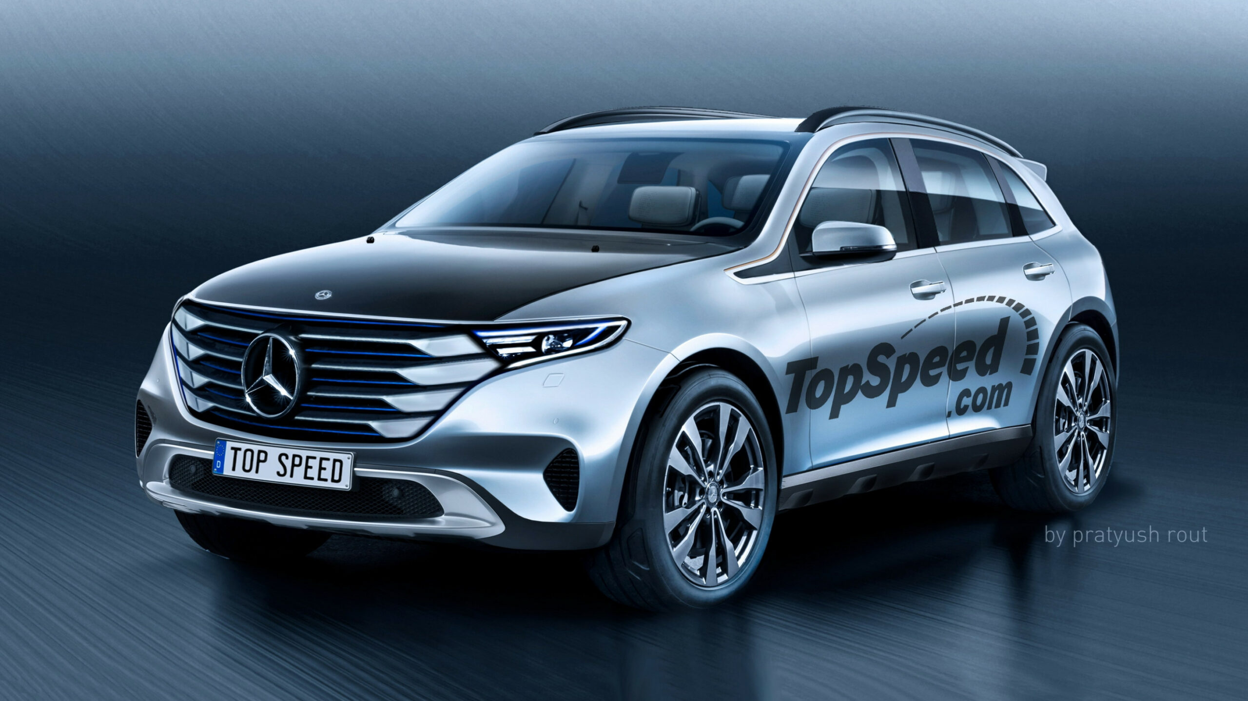 12 Mercedes-Benz All-Electric SUV | Top Speed - mercedes electric suv 2020