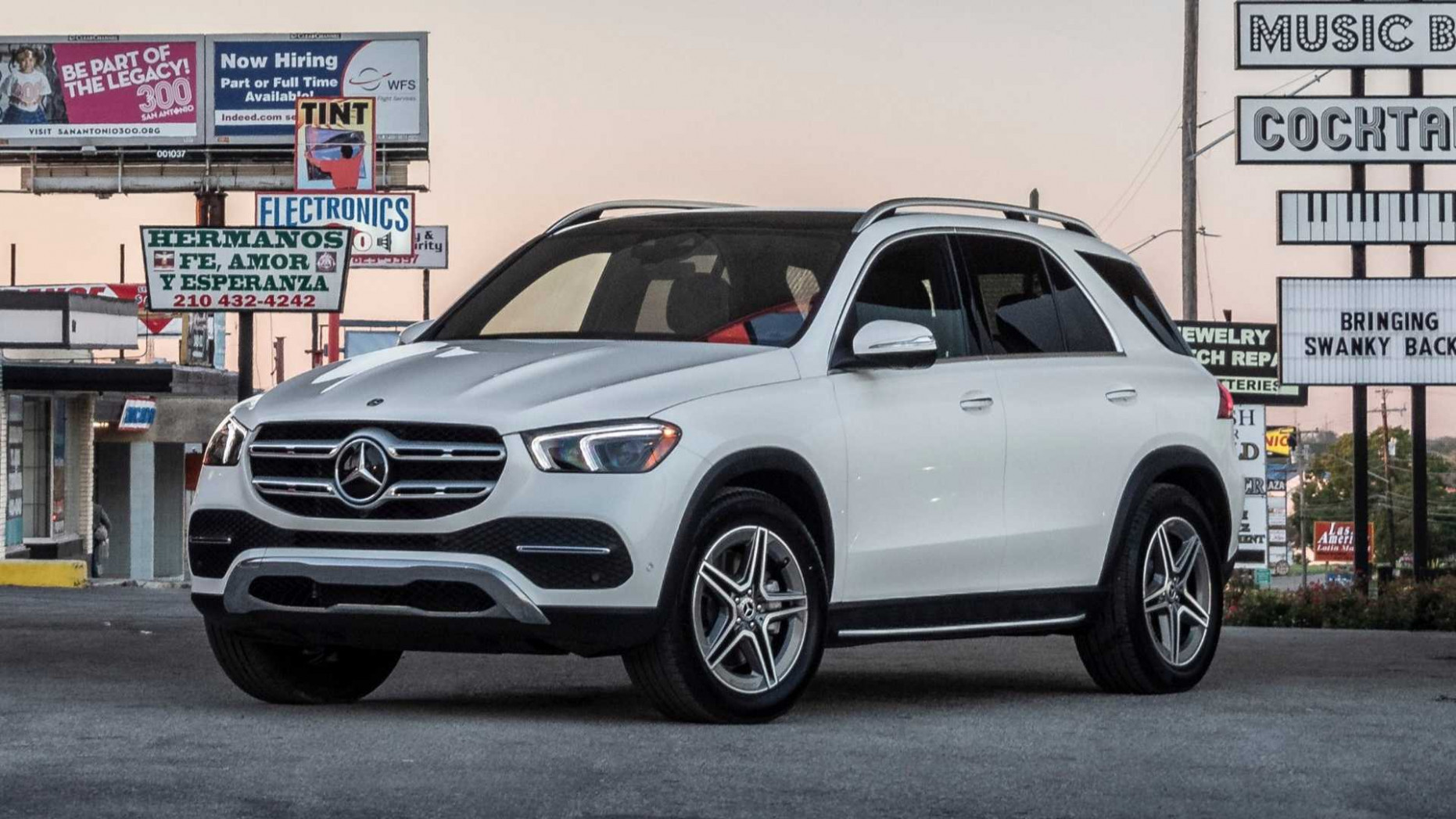 12 Mercedes-Benz GLE-Class First Drive: A Ph.D