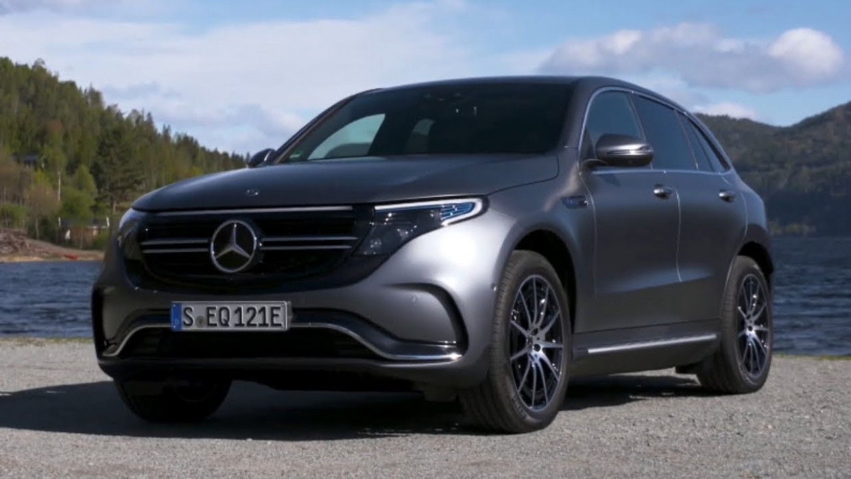12 Mercedes EQC 12 12Matic Unveiled - Electric Mercedes Luxury SUV