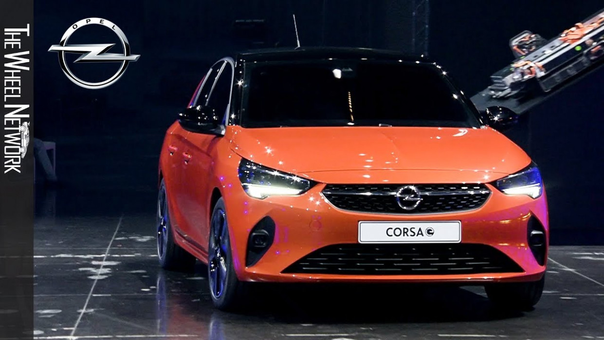 12 Opel Corsa-e Reveal Highlights – Opel goes electric in Russelsheim - opel electric 2020