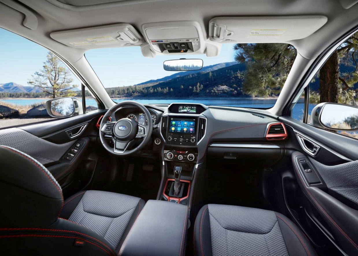 12 Subaru Forester Interior With EyeSight Platform Review - New ..