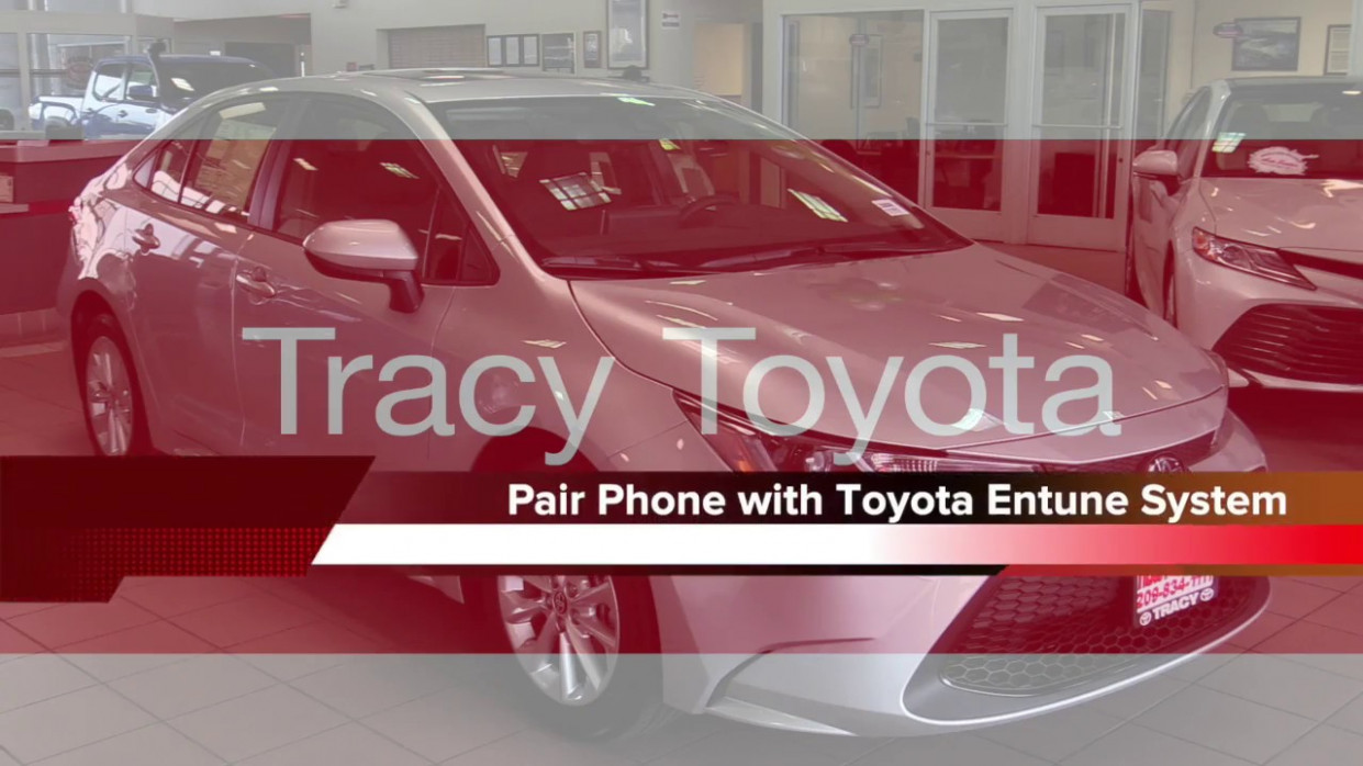 12 Toyota Corolla - How to Connect Phone to Toyota Entune