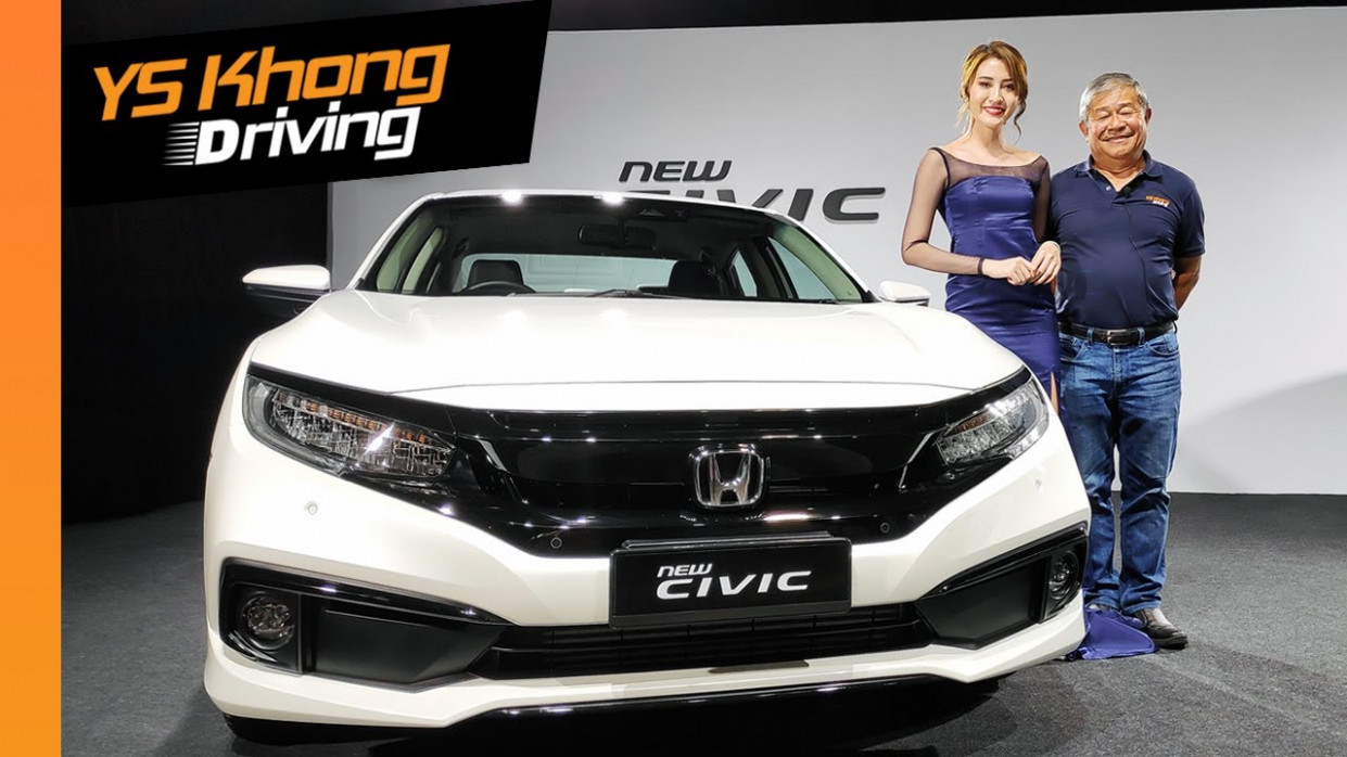 1222 Honda Civic Facelift Malaysia [Launch Review] - Now with Honda  Sensing. 122.122 NA or 122.12 Turbo?