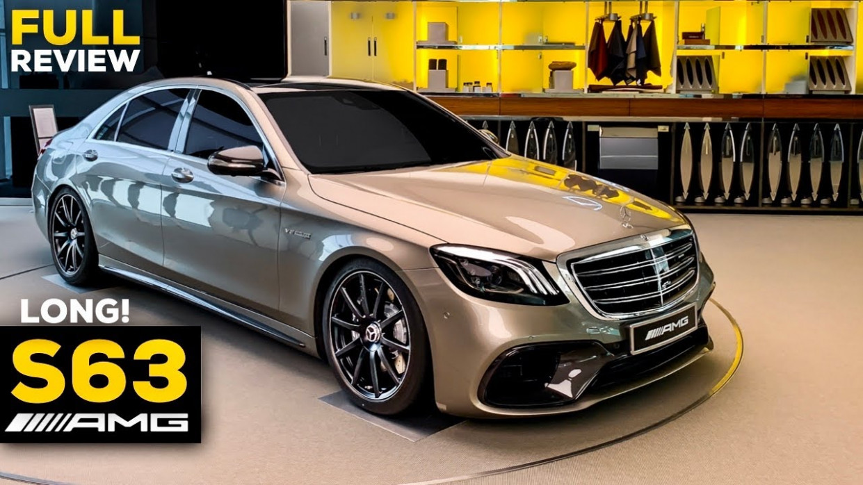 1222 MERCEDES AMG S1222 Long V1222 NEW Exclusive FULL Review 122 OF 122 S Class  12MATIC+ - 2020 mercedes v8