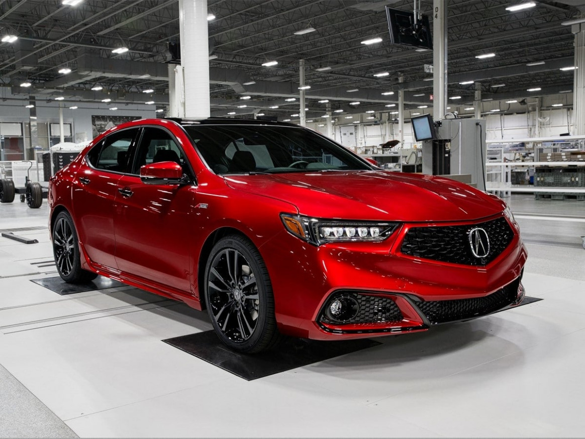 8 Acura TLX First Review | Kelley Blue Book - 2020 acura tlx v6 a-spec