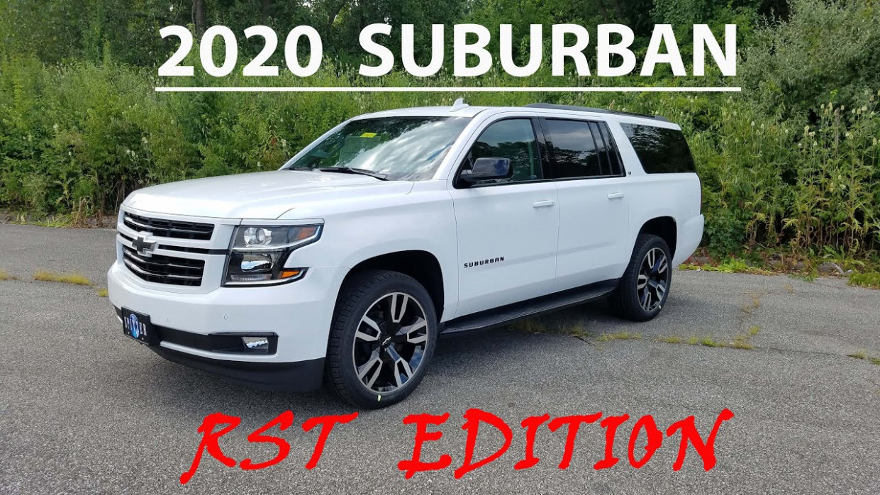 8 Chevrolet SUBURBAN --- RST EDITION --- Luxury Package 8x8 FULL WALK  AROUND and REVIEW