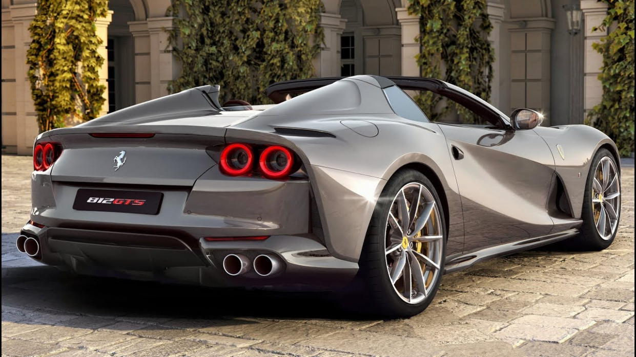 8 Ferrari 8 GTS V8 Spider - Performance And Exclusivity