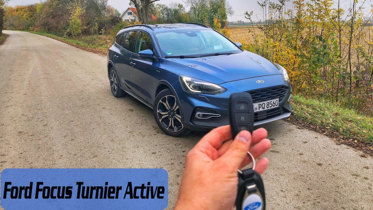 8 Ford Focus Turnier Active | POV Drive - Review - Drive by UbiTestet