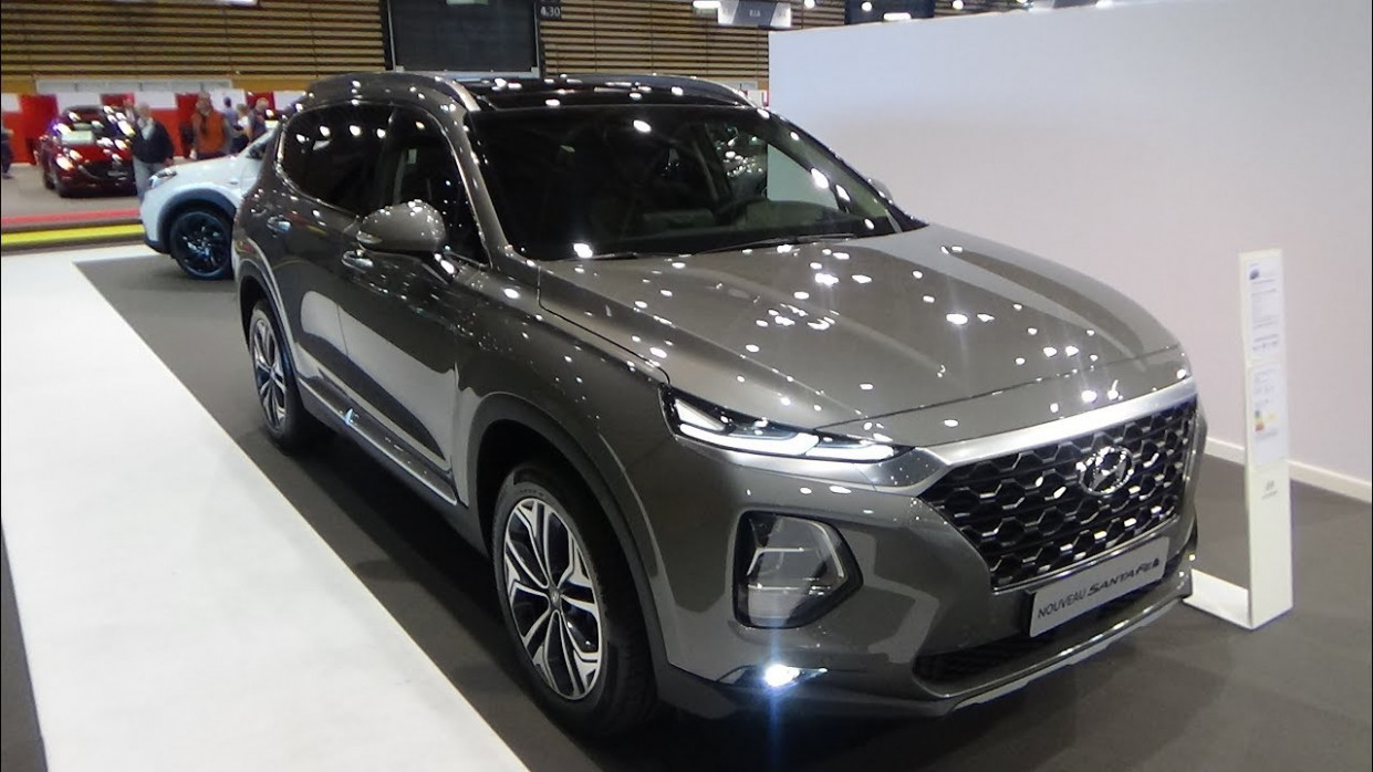 8 Hyundai Santa Fe 8.8 CRDi 8 HTRAC BVA8 - Exterior and Interior -  Salon Automobile Lyon 8819