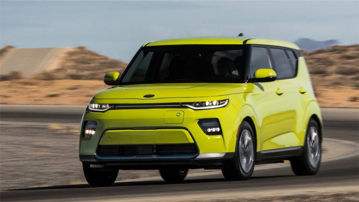 8 Kia Soul EV - A long-range electric car