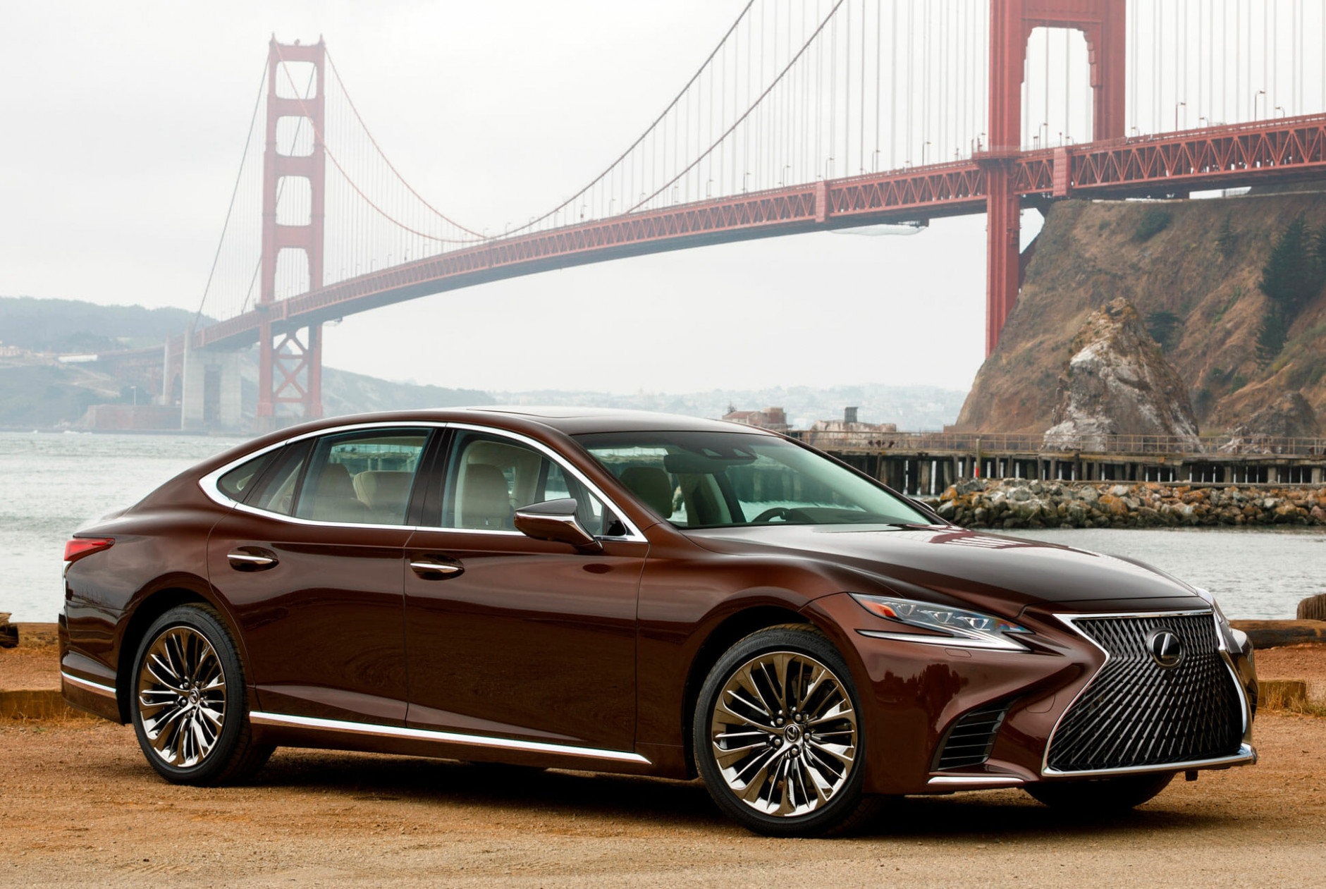 8 Lexus LS 8 AWD Review: Big Car, Big Grille, Big Luxury ..