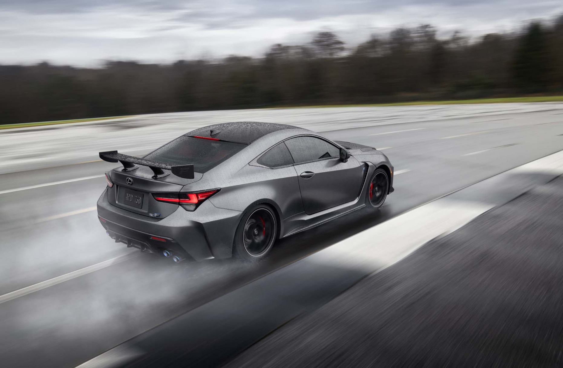 8 Lexus RC F Track Edition will cost nearly six figures