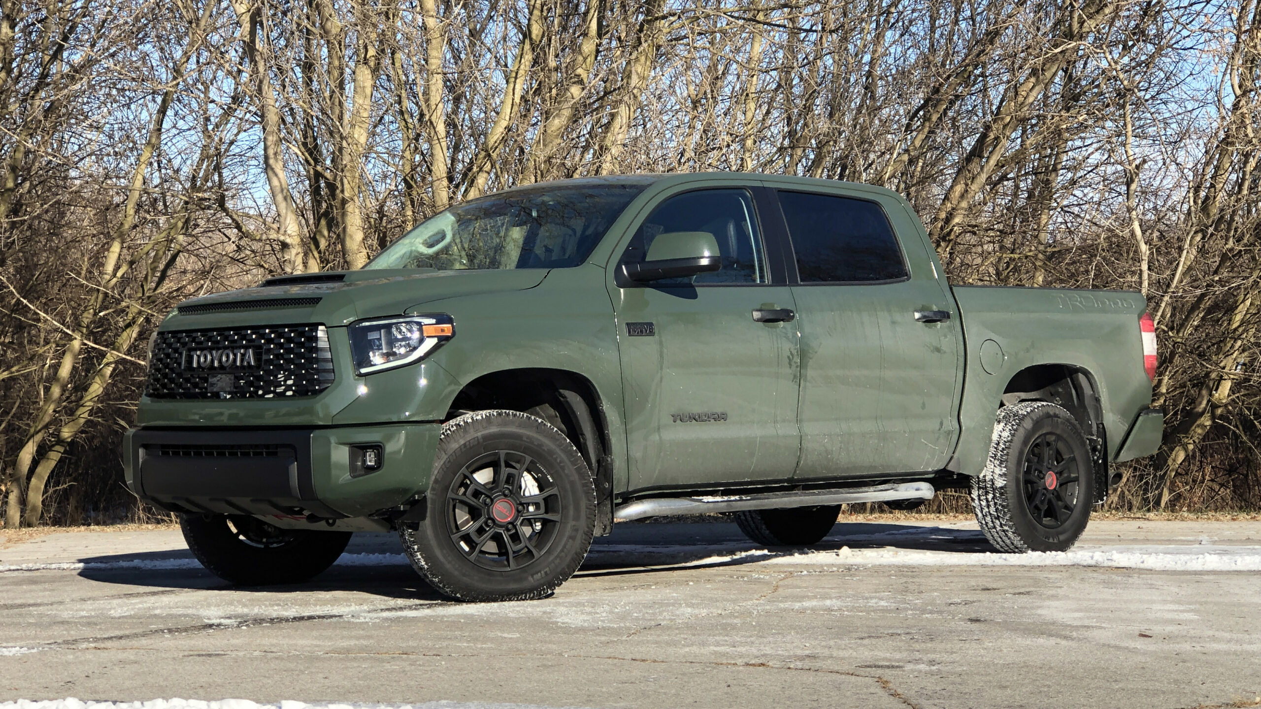 8 Toyota Tundra TRD Pro Drivers' Notes | Suspension, engine ...