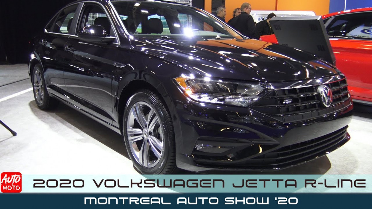8 Volkswagen Jetta R-Line - Exterior And Interior - 8 Montreal Auto  Show