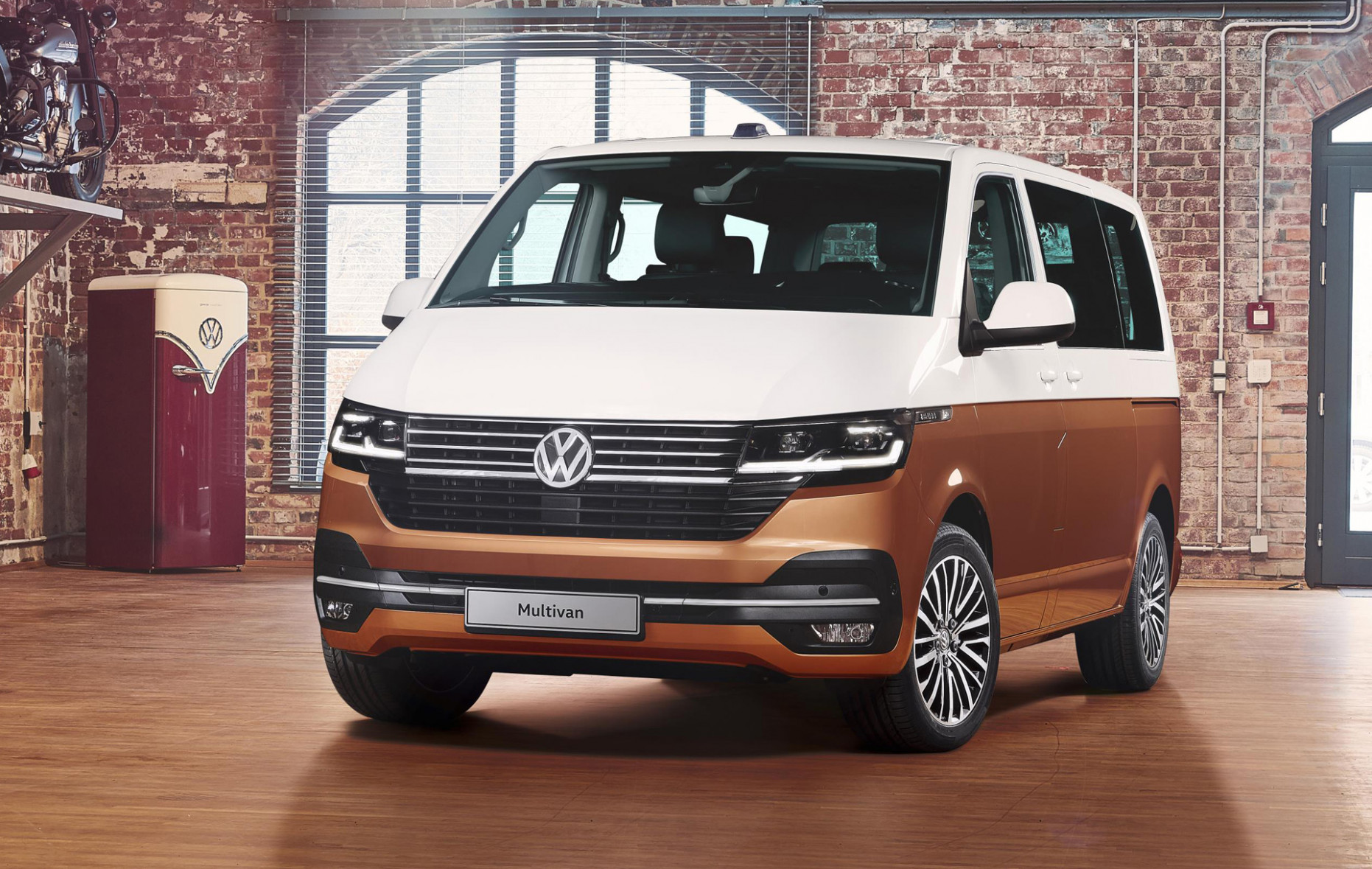 8 Volkswagen Transporter (T8.8) is the Bus we won't see