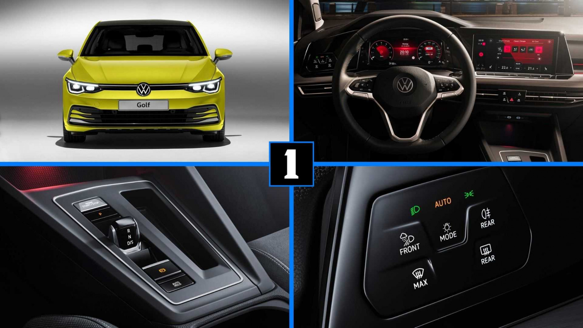 8 VW Golf 8: Here Are The Top 8 New Features - volkswagen driver search 2020