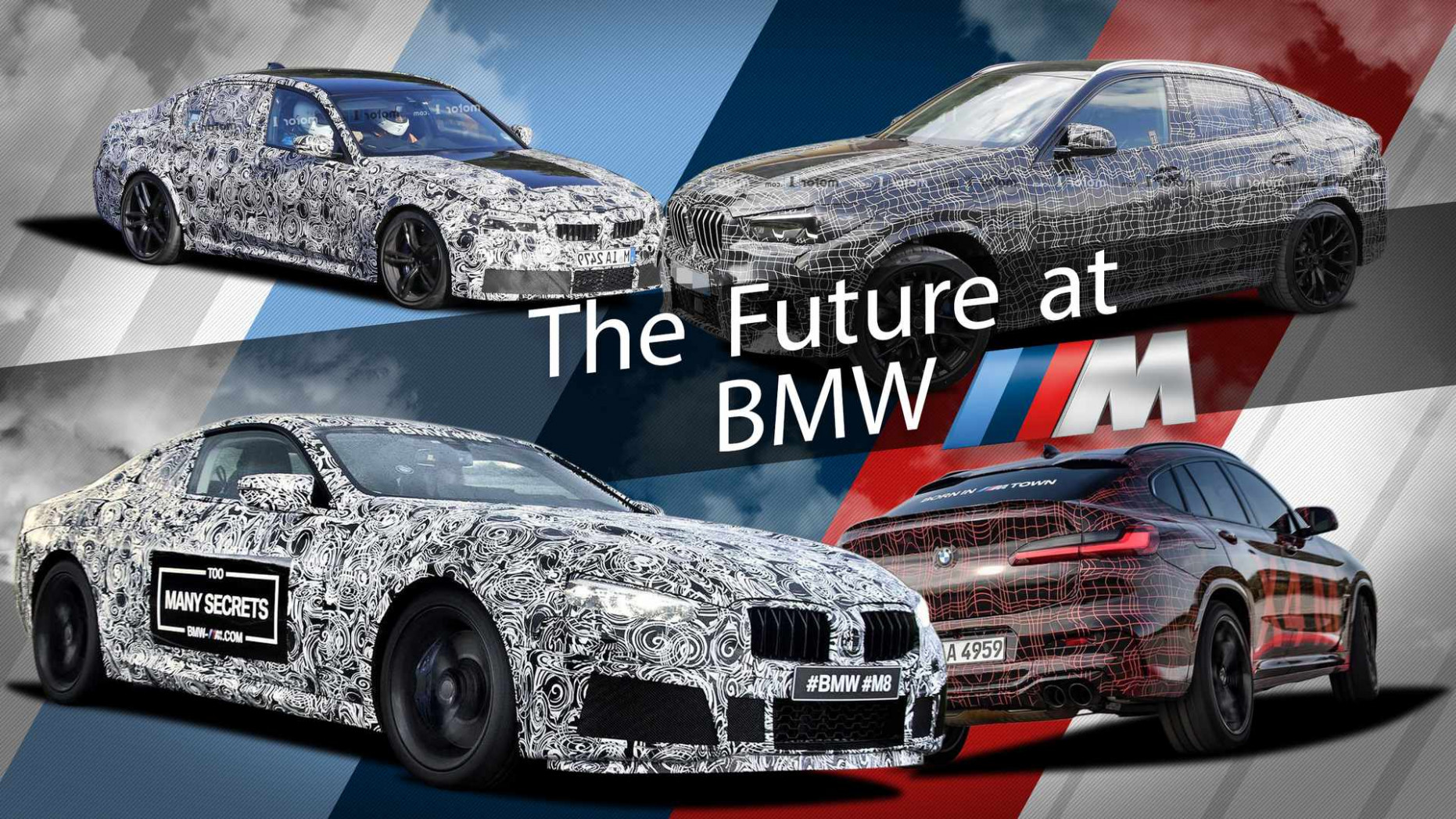9 BMW M Model Guide: 9 New Vehicles Are Coming Fast