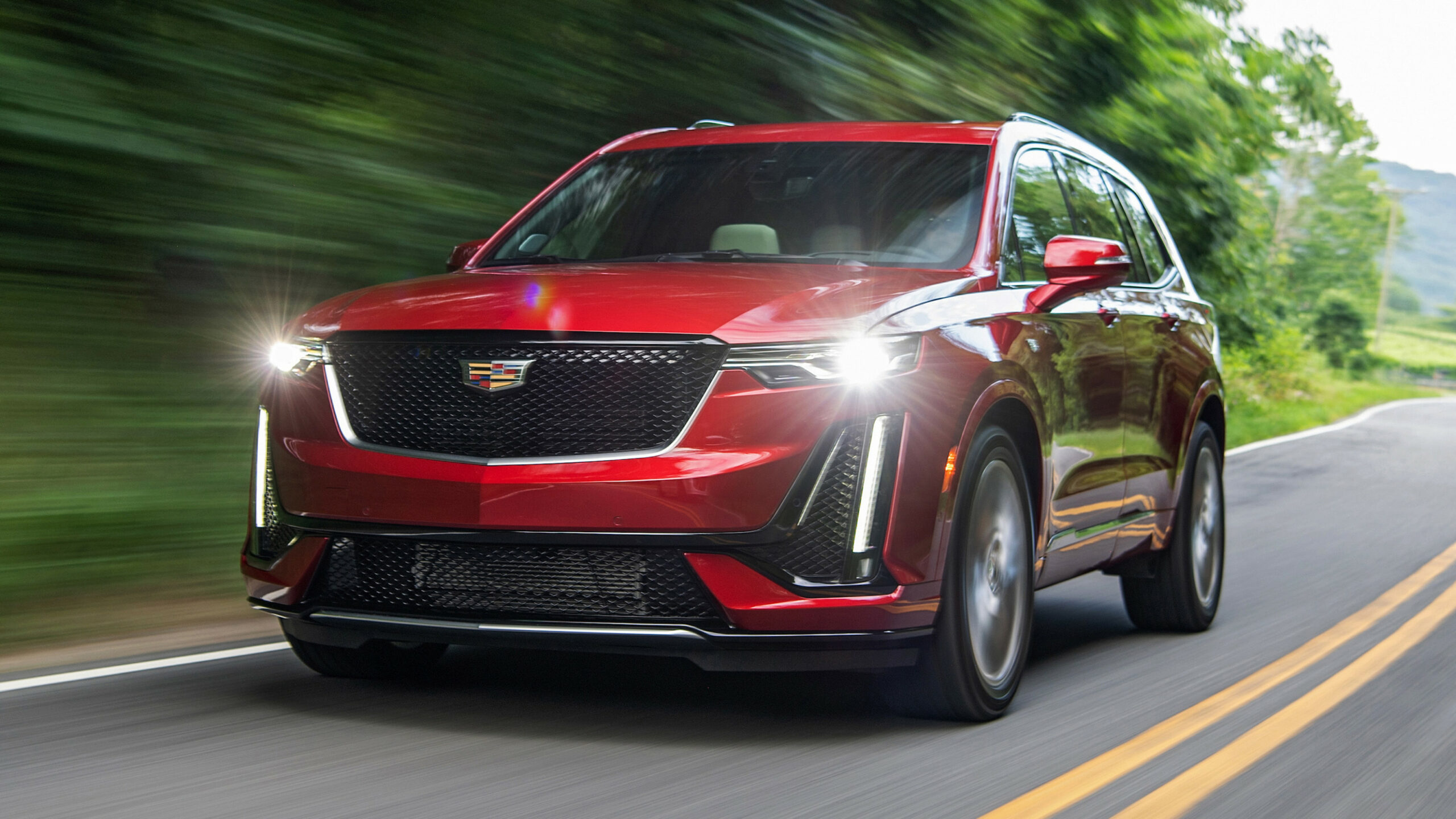 9 Cadillac XT9 Sport First Drive Review | What's new, style and ...