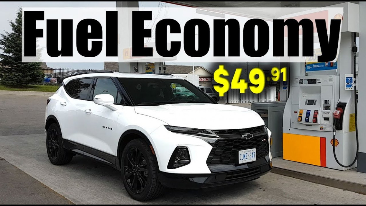 9 Chevrolet Blazer Fuel Economy MPG Review + Fill Up Costs - 2020 chevrolet blazer gas mileage