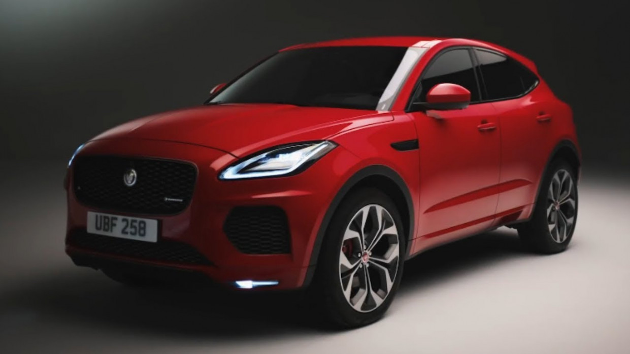 9 JAGUAR E-PACE - Luxury Compact Crossover - jaguar 2020 advert
