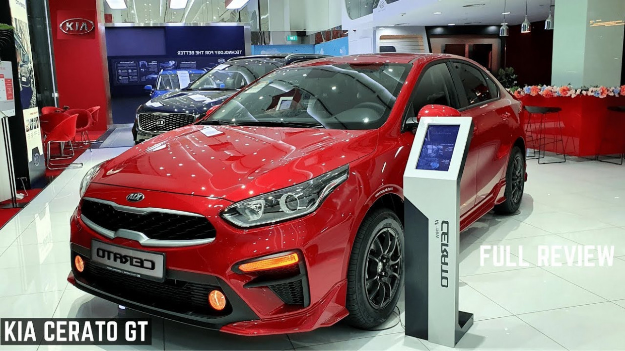 9 Kia CERATO GT Line India FULL Detailed Review - Latest Features,  Premium Interiors, Powerful