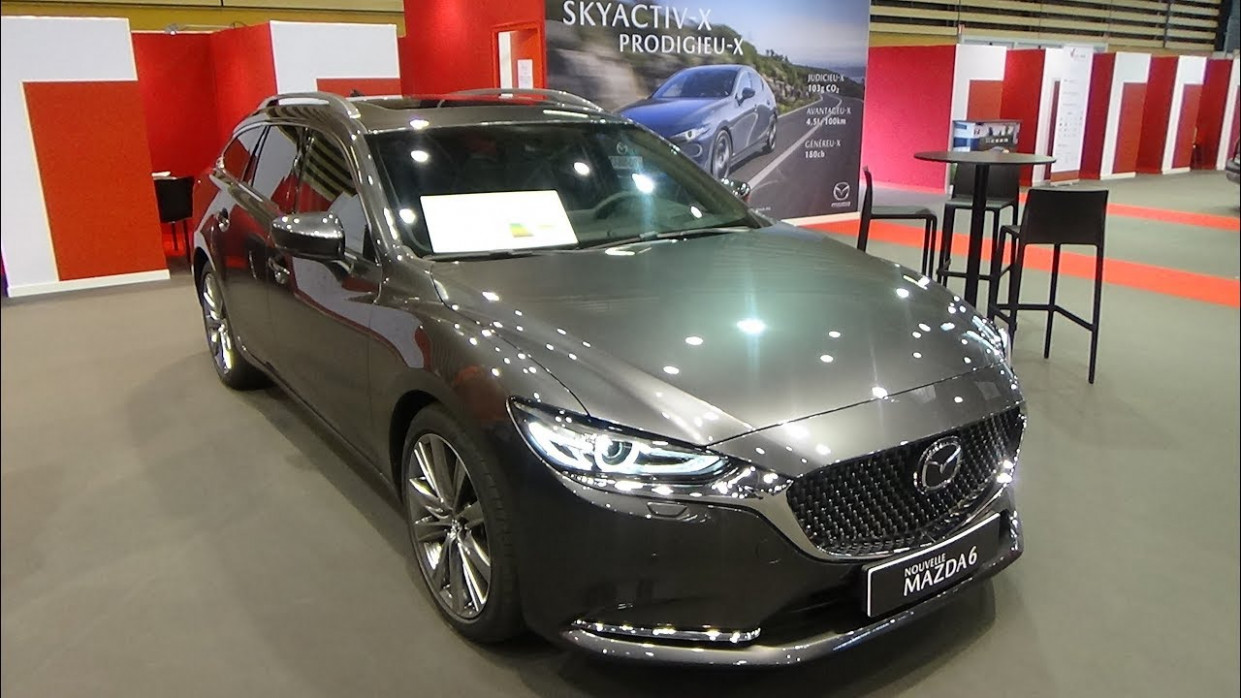 9 Mazda 9 EVAP 9.9 Skyactiv-D 9 - Exterior and Interior - Salon  Automobile Lyon 9019