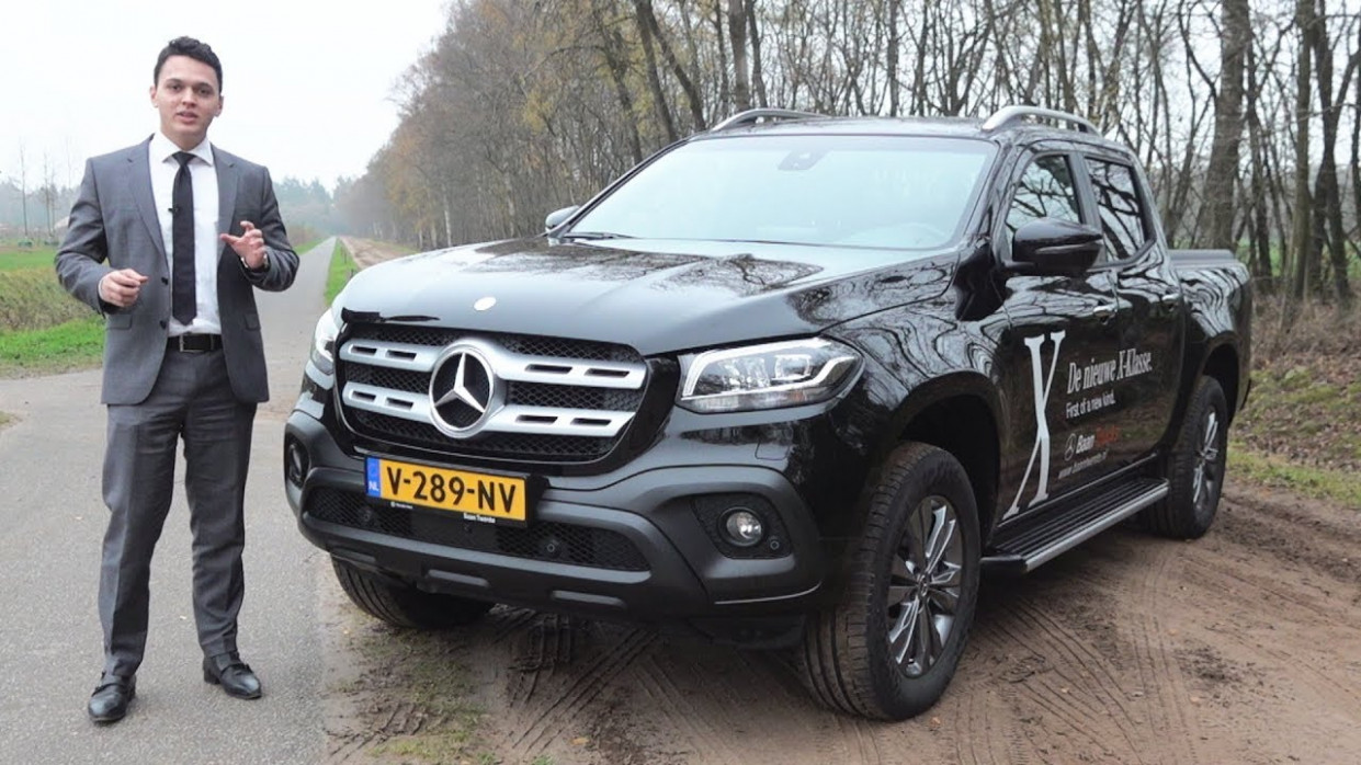 9 Mercedes X Class X9d 9MATIC - Full Drive Review Benz Pick Up - 2020 mercedes ute price
