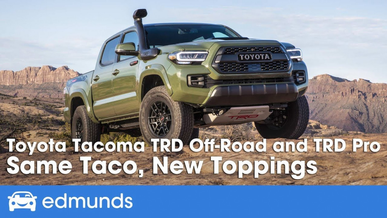 9 Toyota Tacoma TRD Off-Road and TRD Pro ― Off-Road Drive & Review - toyota tacoma 2020 diesel
