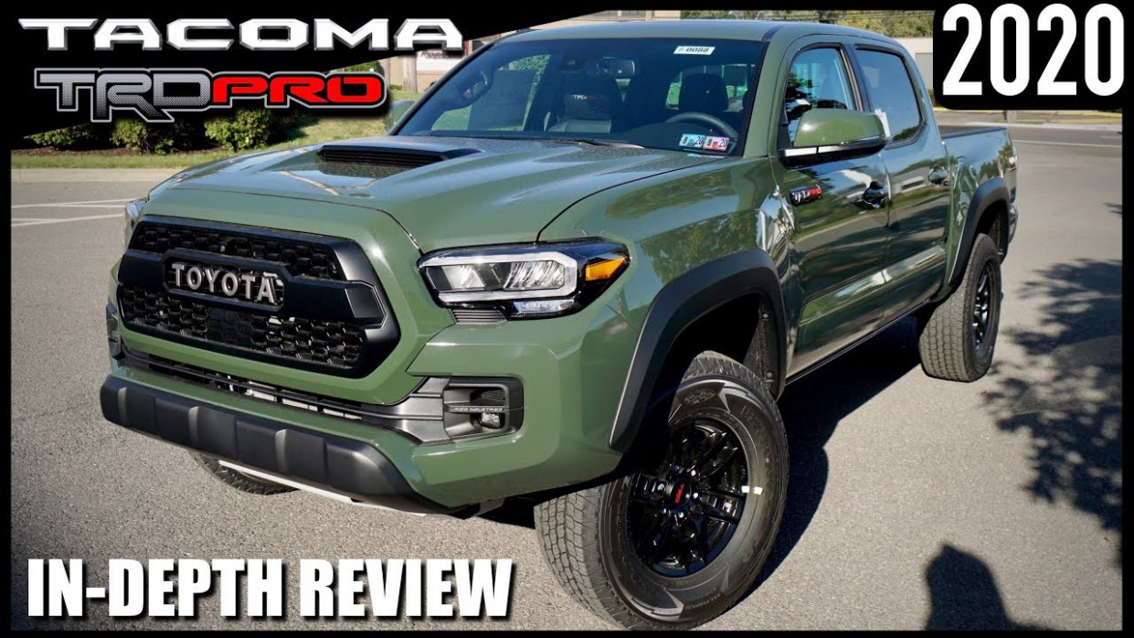 9 Toyota Tacoma TRD Pro /ARMY GREEN/ Better Than Ever! - toyota tacoma 2020 review