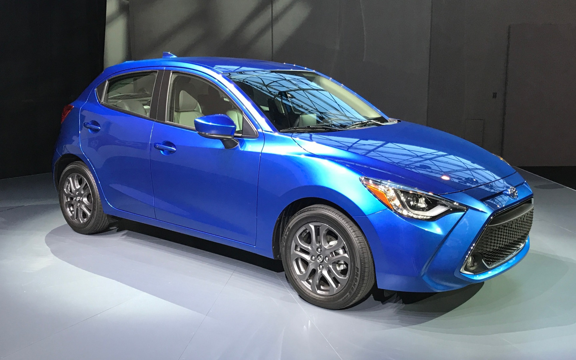 9 Toyota Yaris Hatchback Makes Official Debut in New York - The ..