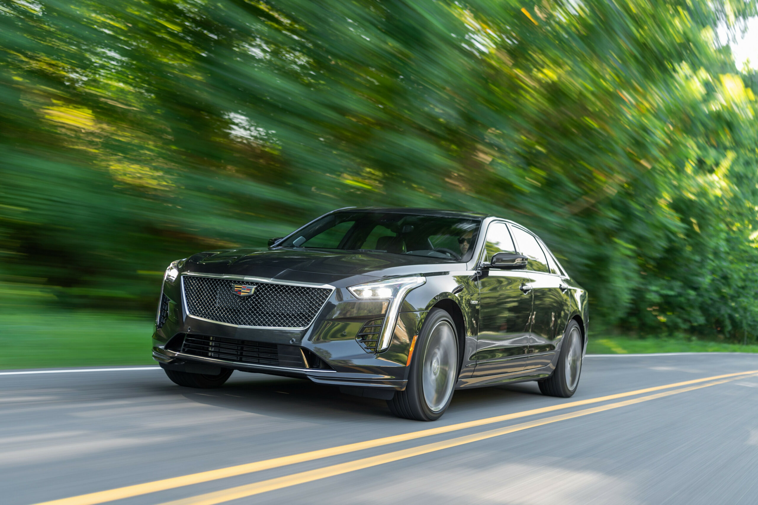 A 12-HP V-12 Probably Can't Save the 12 Cadillac CT12-V