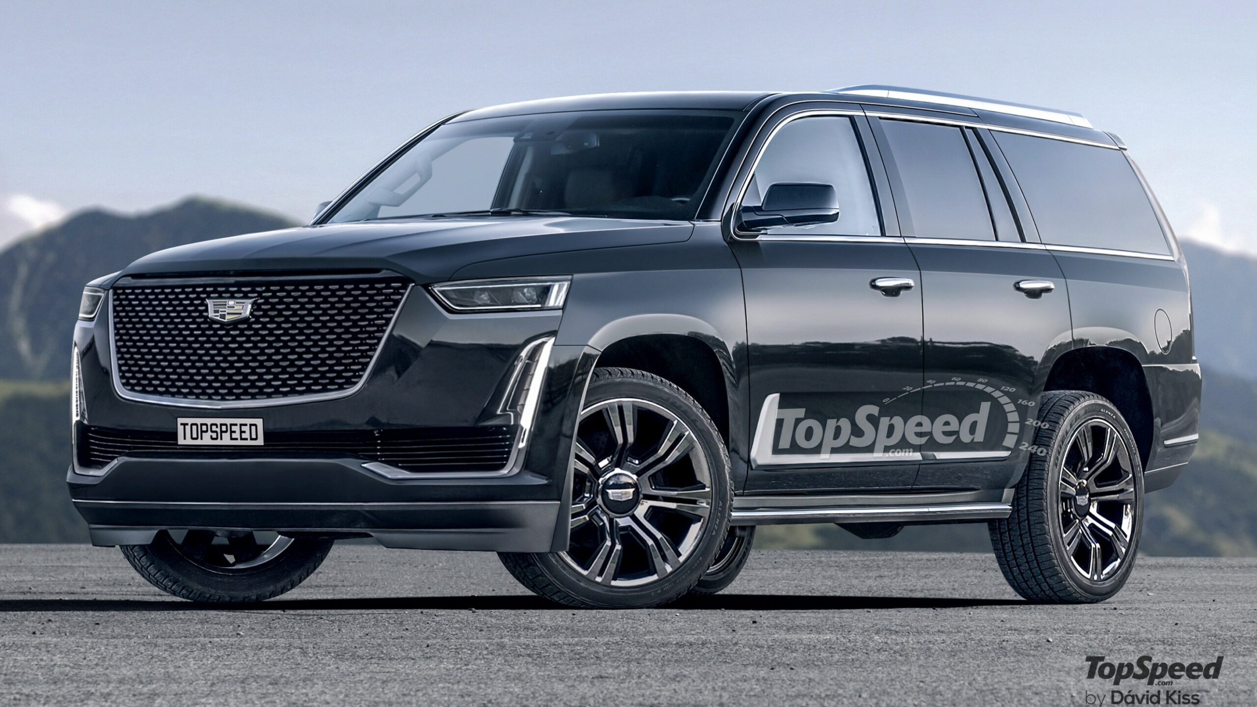 A Cadillac Escalade With The LT10 From The Chevy Corvette And ...