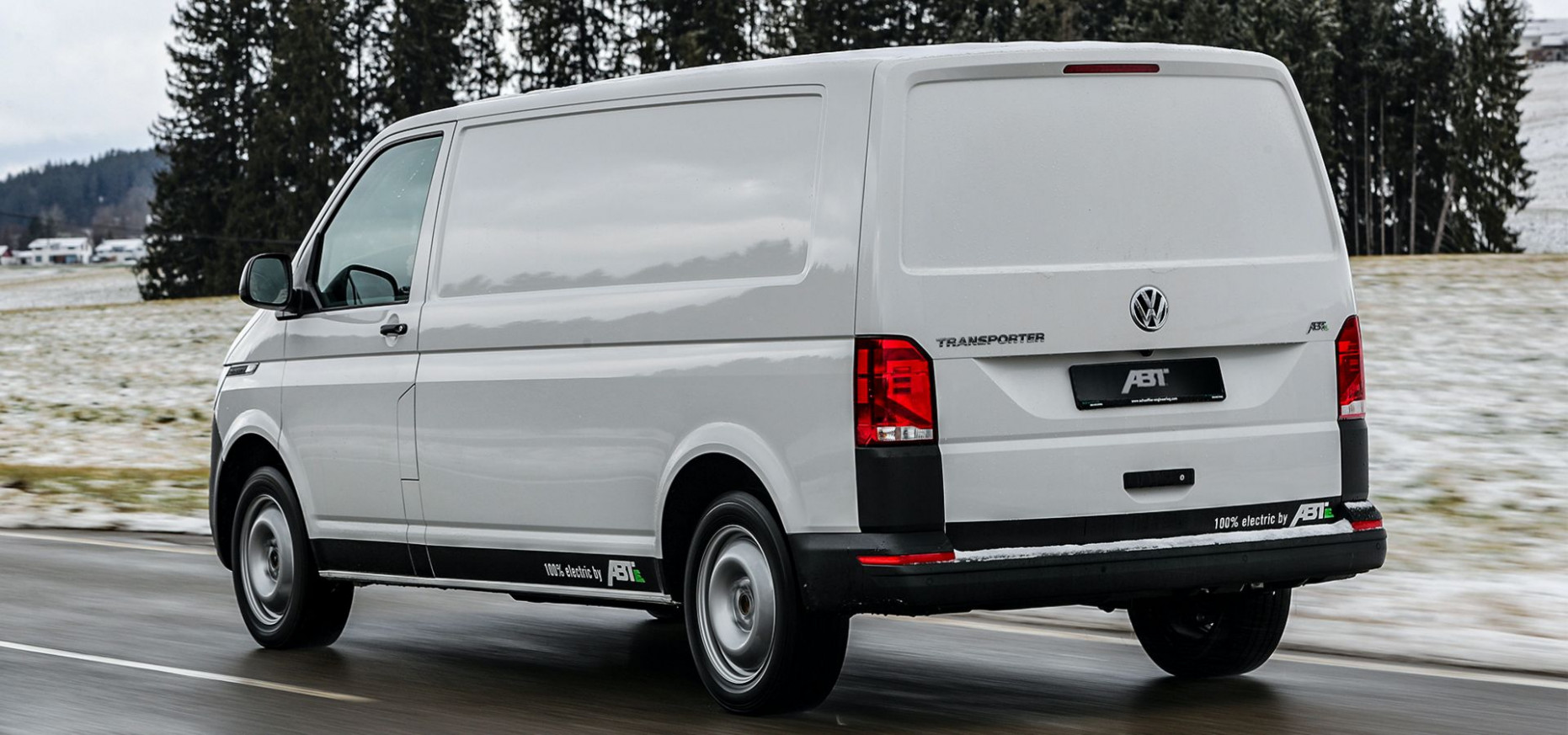 ABT's Electric VW e-Transporter 100.10 Offers 8100 Miles Of Range For ...