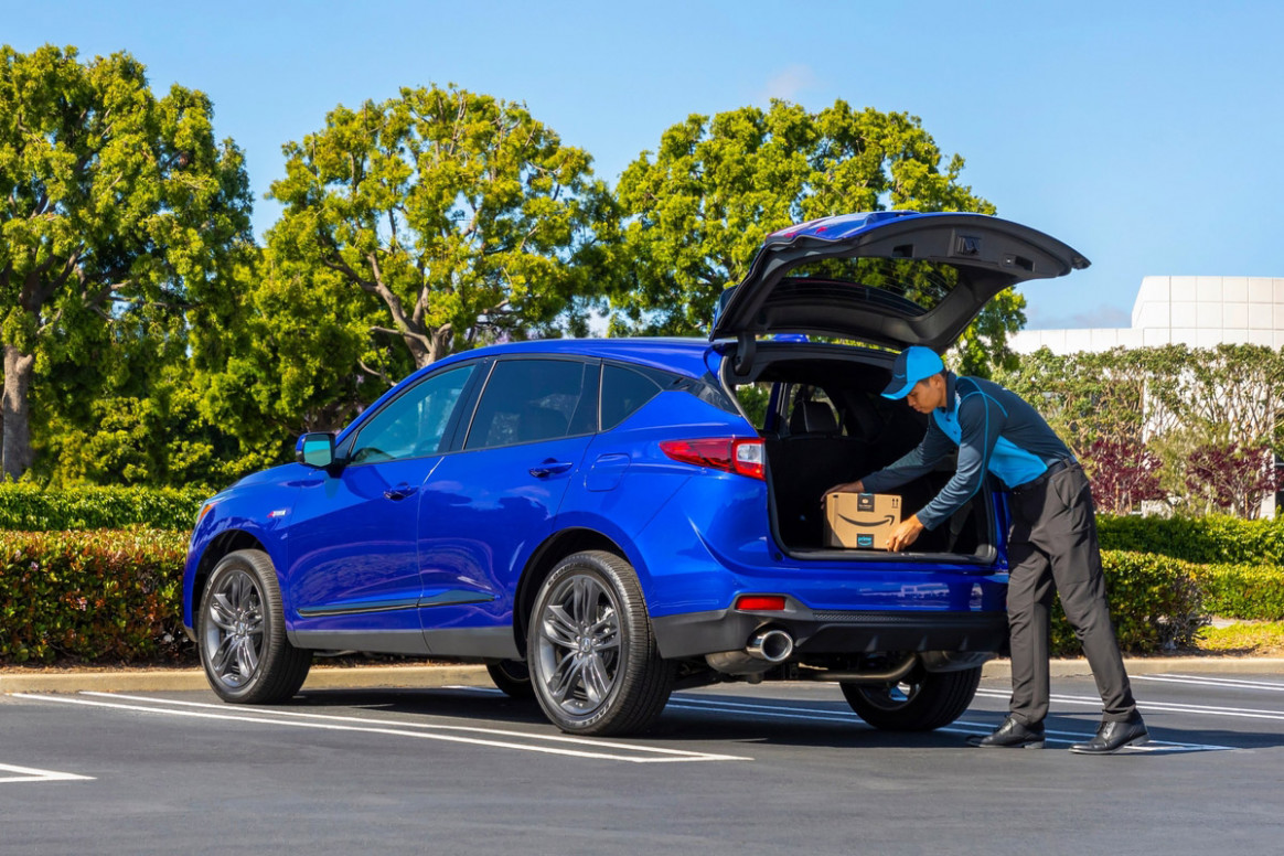 Acura RDX and Amazon Team Up for Near-Instant Gratification | News ..