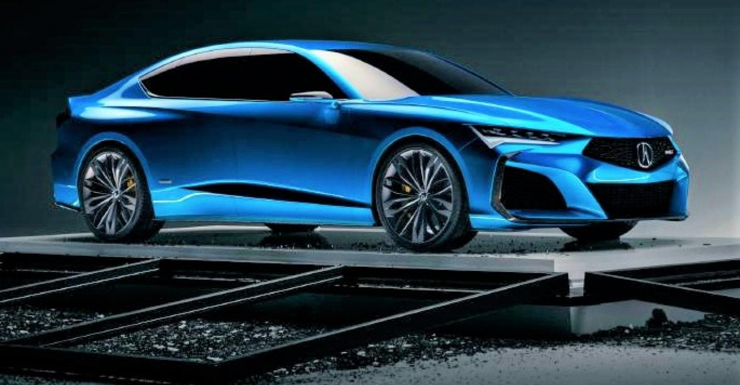 Acura Type S Concept Breathes New Life Into Sedans | WardsAuto