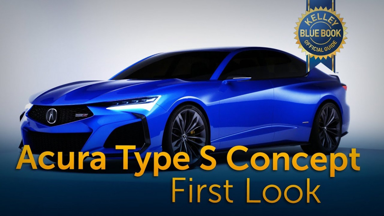 Acura Type S Concept - First Look - acura tlx type s 2020