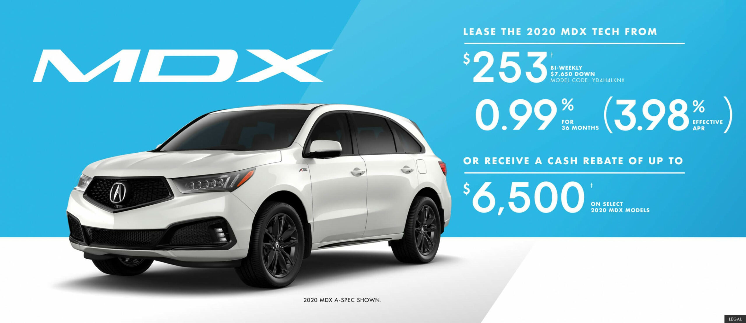 Acura West - Current Offers and Promotions - 2020 acura mdx lease deals