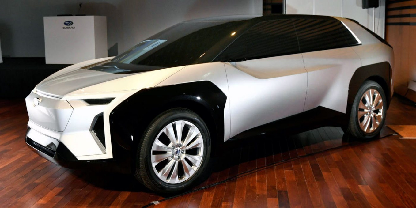 All-electric Subaru Evoltis, with oddball design, to be unveiled ..