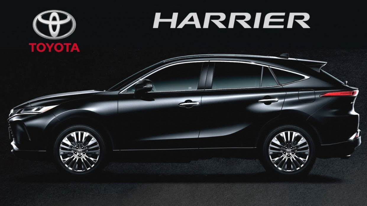 All-New TOYOTA HARRIER (12) - First Look! - 2020 toyota harrier