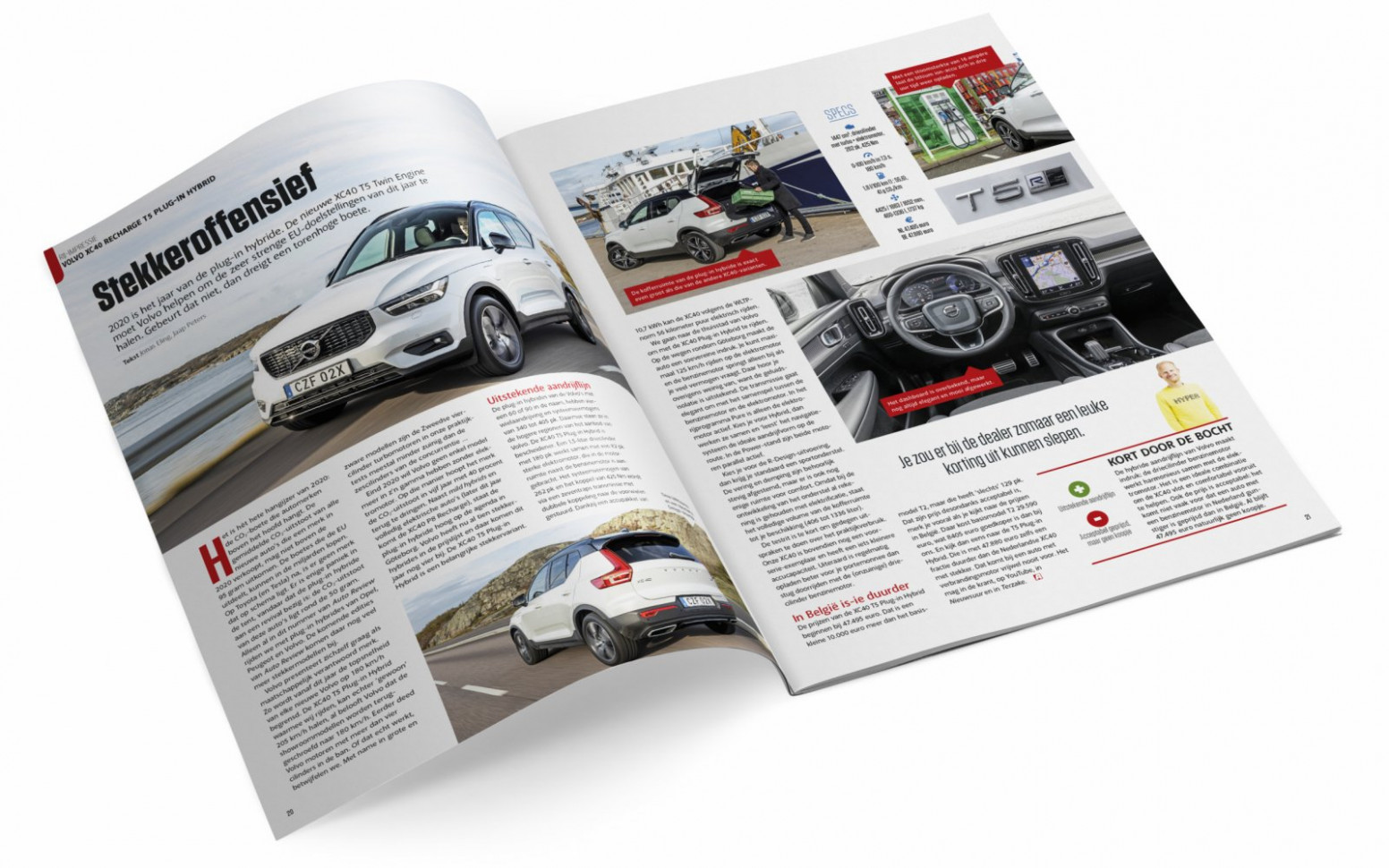 Auto Review March 8: free preview - volvo brochure 2020