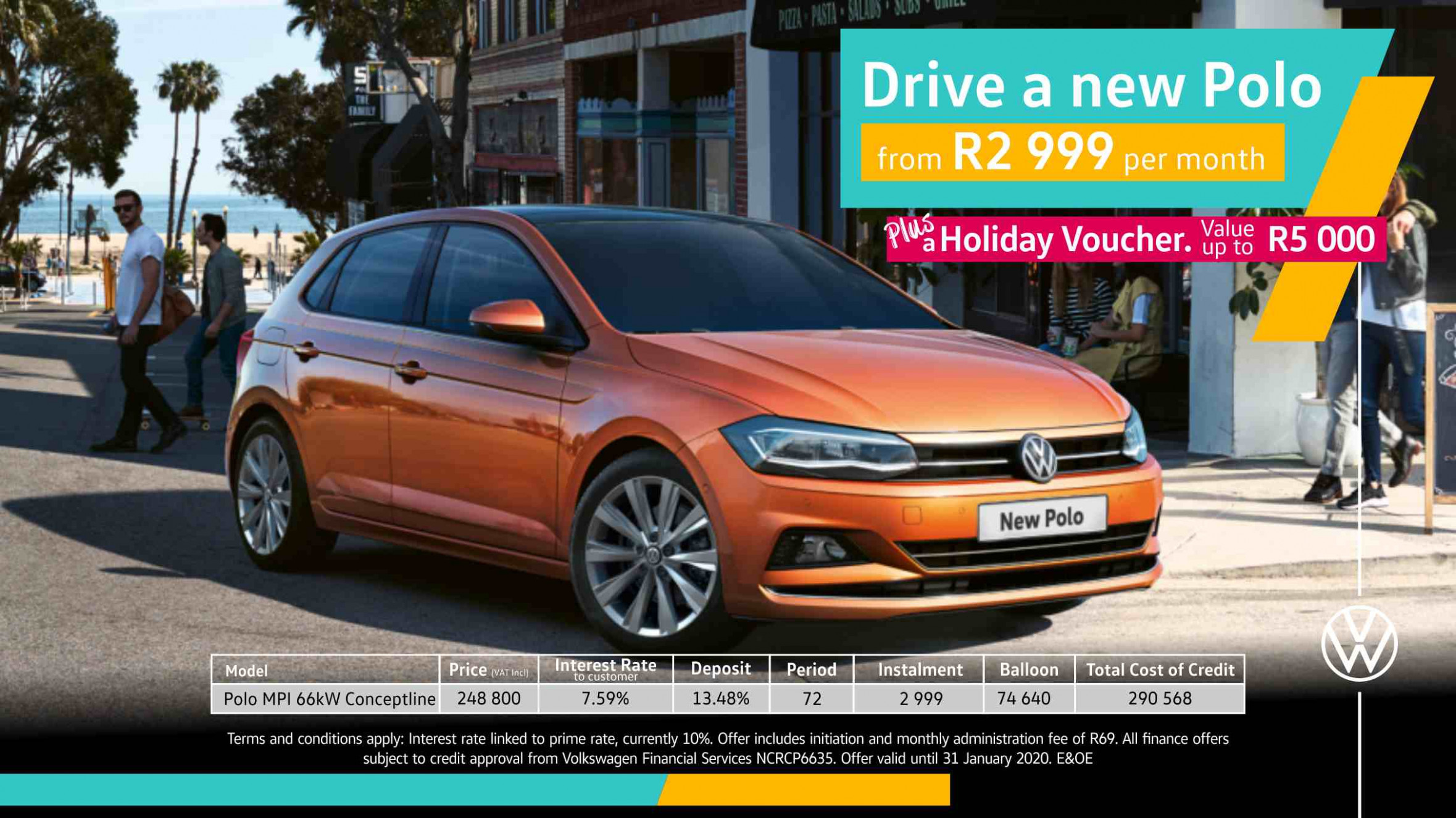 Barons Tokai New Polo special - volkswagen offers 2020