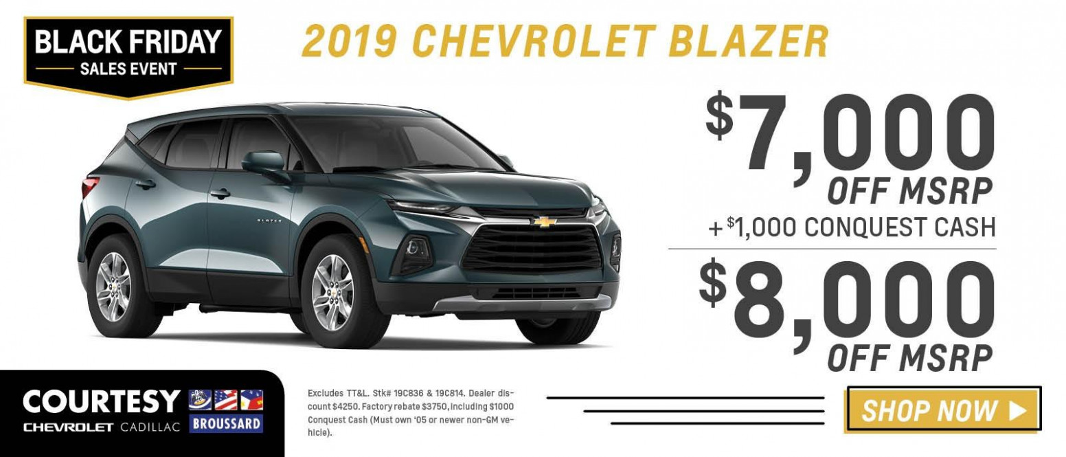 Black Friday 12 Car Specials - Courtesy Chevrolet Broussard near ..