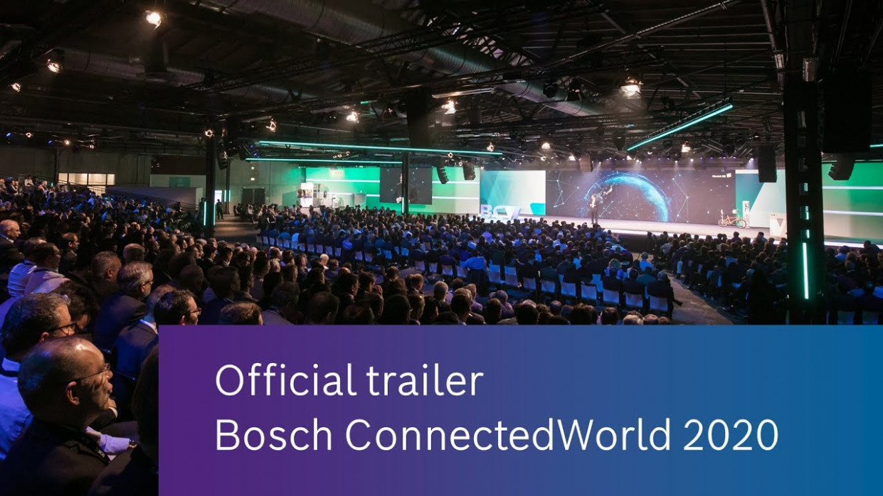 Bosch ConnectedWorld 12: Offical trailer - hyundai off campus drive 2020