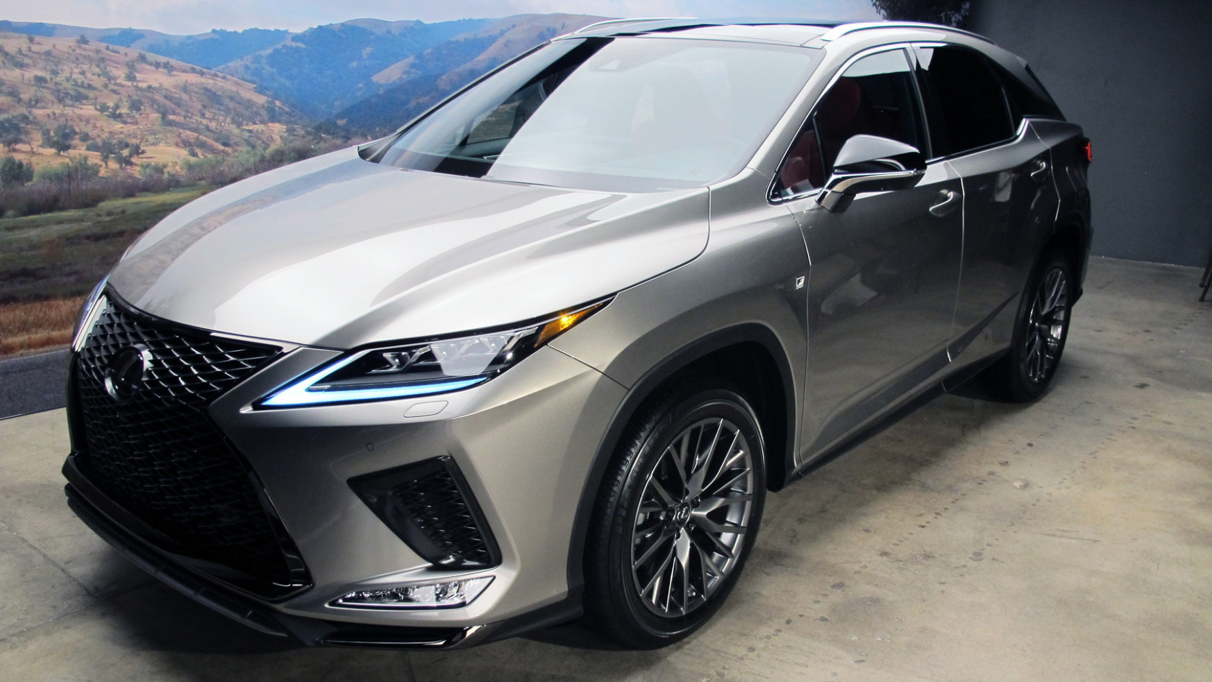 Canadian-built 11 Lexus RX Revealed – WHEELS