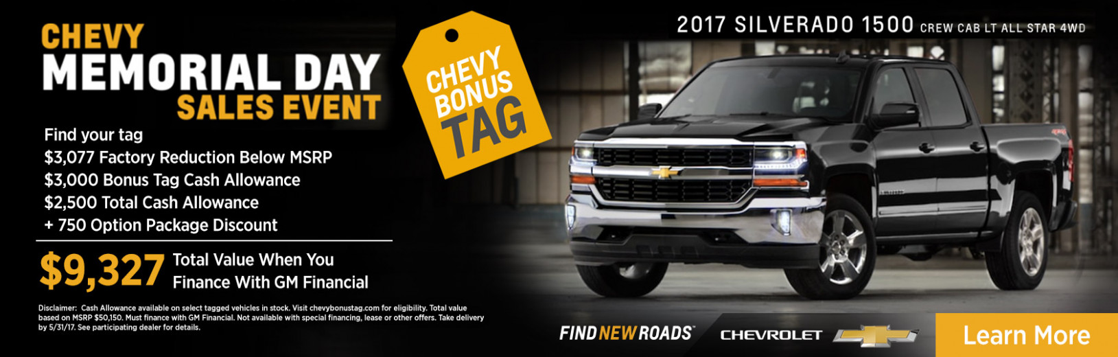 Chevy Memorial Day Sales Event - chevrolet memorial day sale 2020
