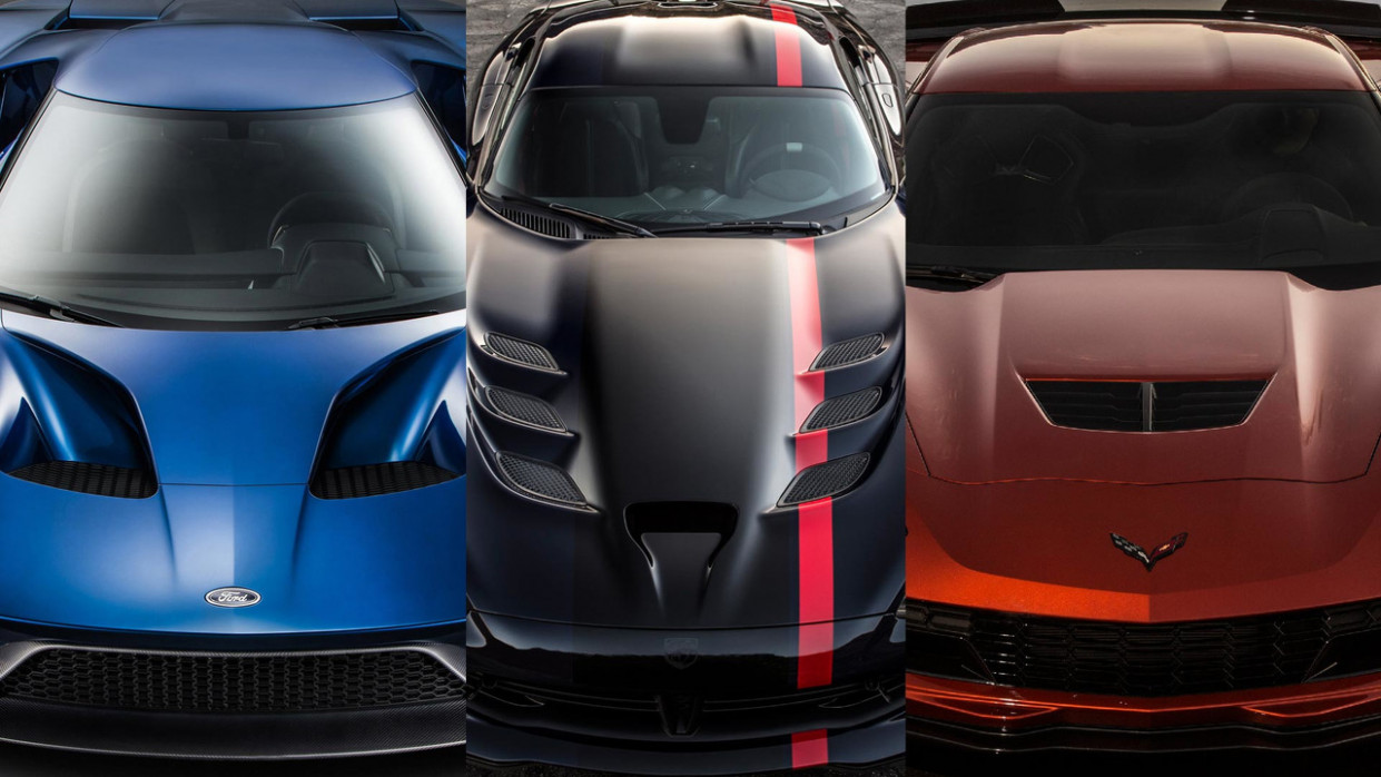 Civil War: Ford GT vs. Chevy Corvette Z8 vs
