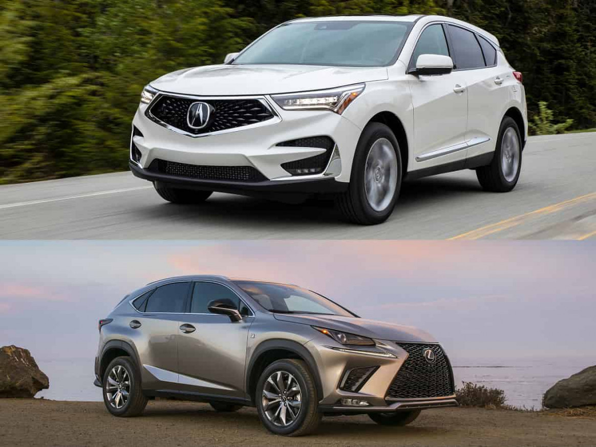 Compare and Contrast: 8 Lexus NX 8 AWD vs. 8 Acura RDX ...